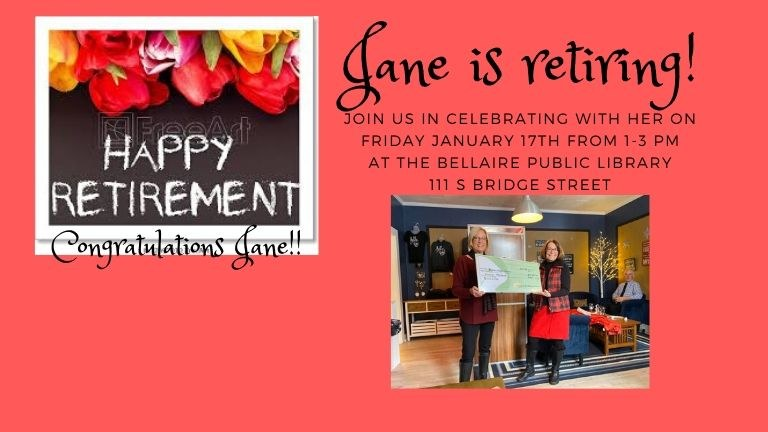 Join us Friday January 17th from 1-3PM