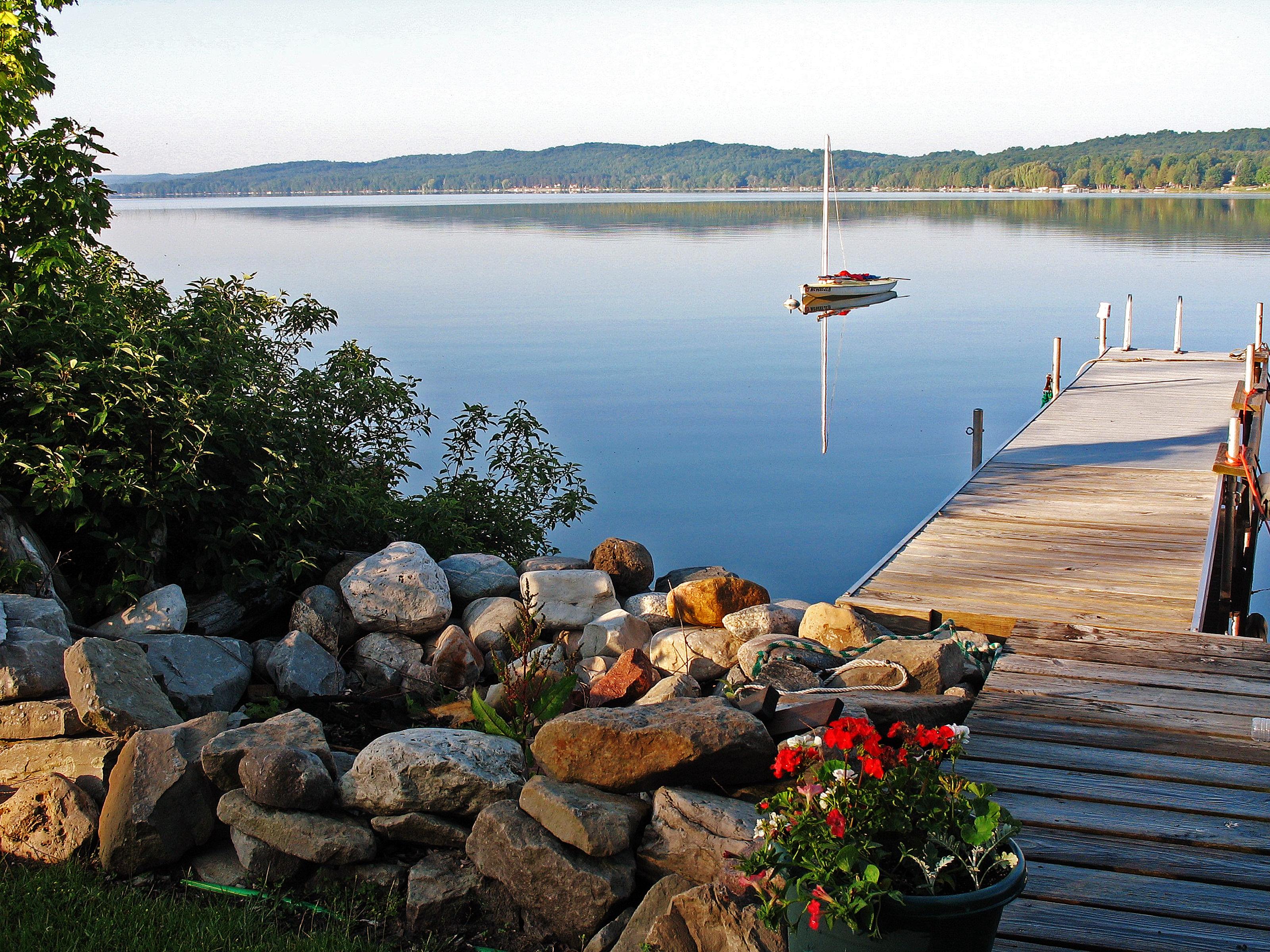 Lake Bellaire summer morning