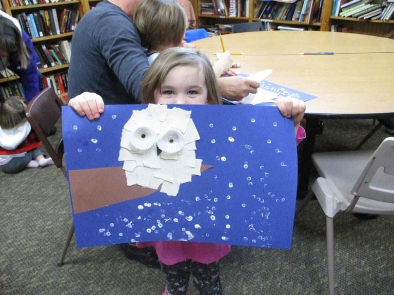 Story hour owl 2