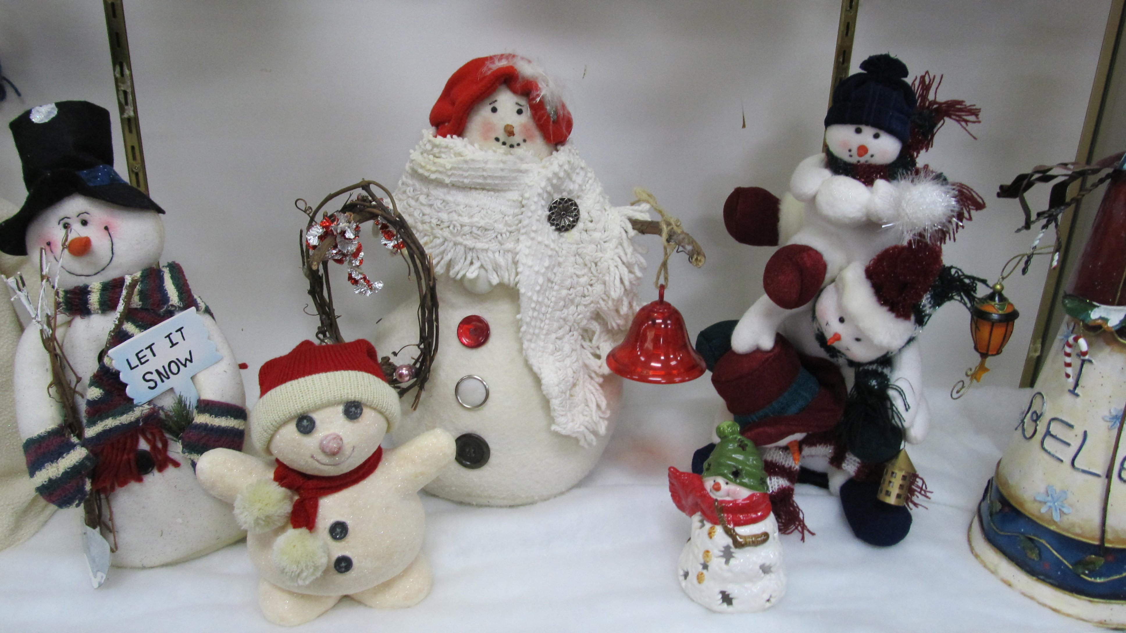 Winter at the Bellaire Public Library