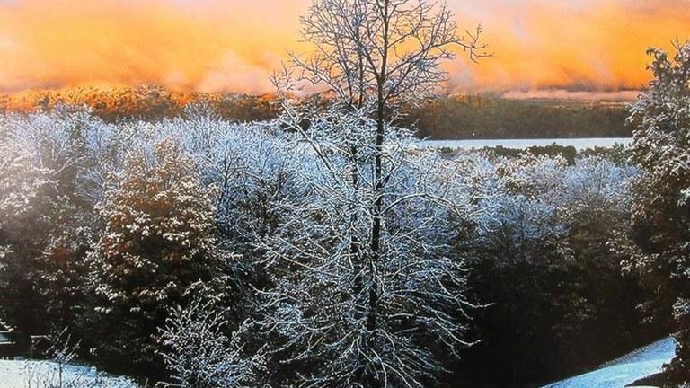 Winter Photo of Bellaire Michigan